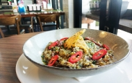 Cheeky Chimichurri Risotto served at Aspley Central Tavern