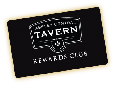 Aspley Central Tavern Membership Rewards Card